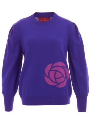 Cashmere Blend Peony Purple & Orchid